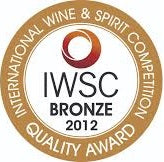 International Wine and Spirit Competition 2012 - Bronze medal