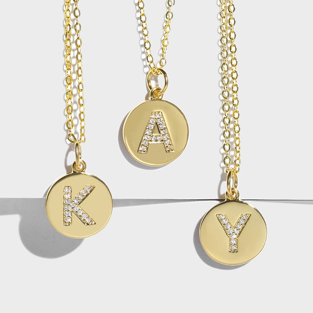 Kay Initial Necklace