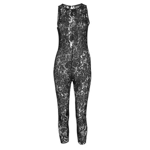 LAYLA SLEEVELESS LACE CATSUIT
