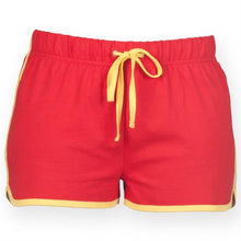 Load image into Gallery viewer, SLIM FIT LADIES RETRO SHORTS