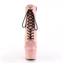 Load image into Gallery viewer, PLEASER - Baby Pink Faux Suede Ankle Boot