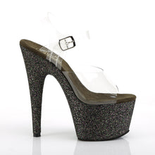 Load image into Gallery viewer, PLEASER - Black Glitter  Sandal