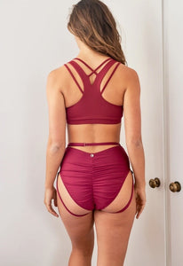 JADED STRAPPY BACK TOP