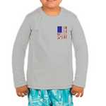 Toddler Fiend Flag Gray