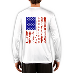Men's Fiend Flag White