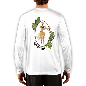 Men's Hula Girl White