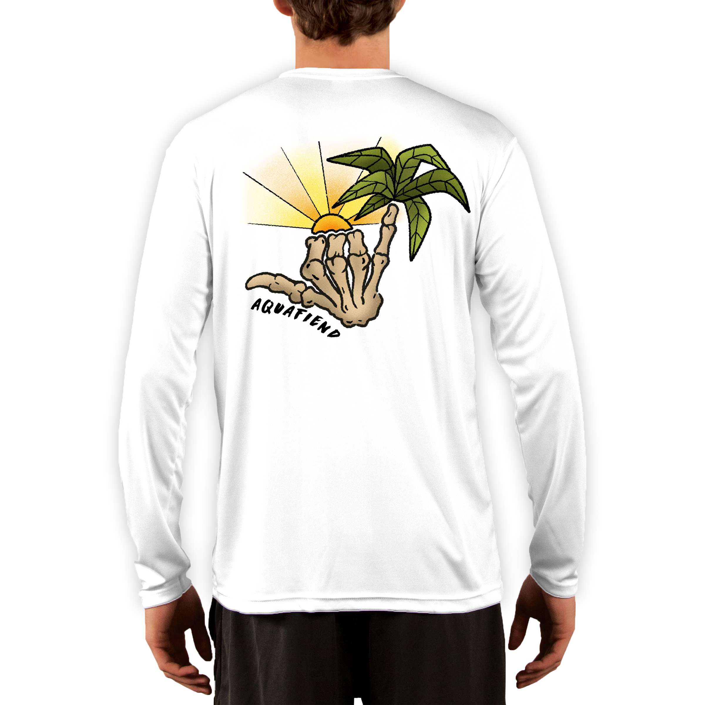 Men's Tropical Shakka White