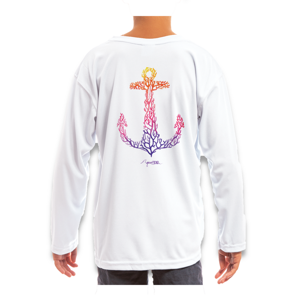 Kids Reef Anchor Long Sleeve