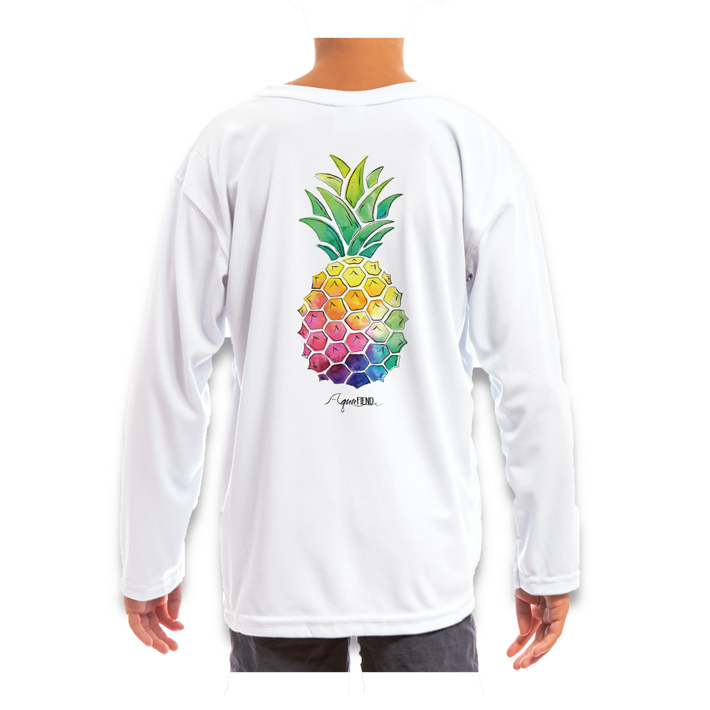 Kids Pineapple Long Sleeve