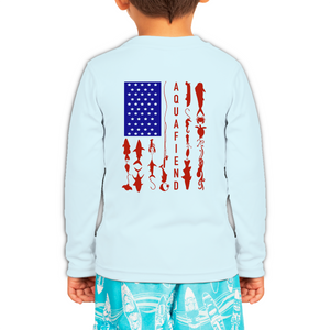 Toddler Fiend Flag Blue