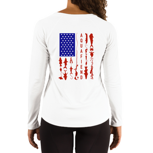 Women's Fiend Flag White