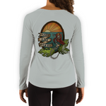 Women's Skeleton Mermaid Gray