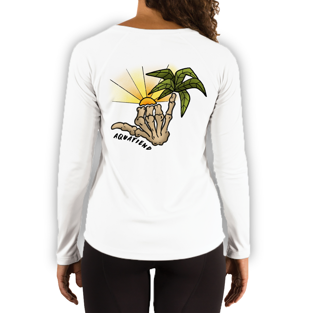 Women's Tropical Shakka White