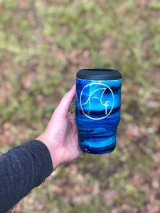 Blue Wave Koozie