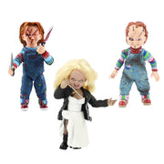 15-16cm  NECA good guys Child's Play Scary Bride of Chucky 1/10 Scale Horror Doll Chucky PVC Action Figure Toy Halloween gift