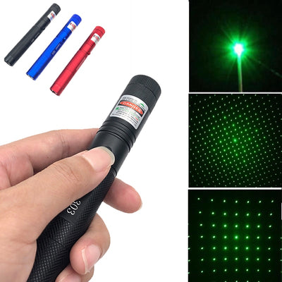 10000m 532 nm Green Laser Sight Lasers Point Powerful device Adjustable Focus Lazer with laser 303