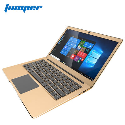 13.3 inch IPS Win10 laptop Jumper EZbook 3 Pro notebook computer Intel Apollo Lake N3450 6GB DDR3 64G eMMC netbook AC Wifi 1080P