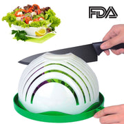 Multi-Functional Kitchen Tool Salad Chopper Bowl, Fruit Bowl, Salad Bowl,Salad Chopper, Vegetable Slicer, Vegetable Bowl