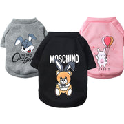 Fashion Dog Clothes Spring Chihuahua Dog Coats Jackets 2019 Cartoon Hoodie Pet Dog Clothes For Small Dogs Cats Pets Clothing