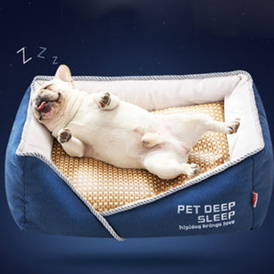 Sumer Pet Dog House Bed Hamster Cage Kennel Honden Hurones House Novelty Cama Para Mascotas Air Sleep Bed Hundebett Chat 70YY6