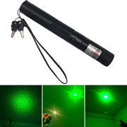 10000 m 532nm 5mw Green Laser Sight Lasers Pointed Powerful device Adjustable Focus Lazer laser pen Head Burning Match