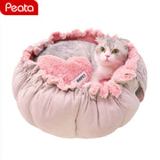 Princess Cat Sofa Bed Kennel Pet Products House of Novelty Bed for Dogs Puppy Dog Houses Nest Mats Pet Kitten Supplies Y