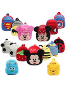 Funny joy New cute cartoon kids plush backpack toy mini school bag Children's gifts boy girl baby student bags lovely wallet