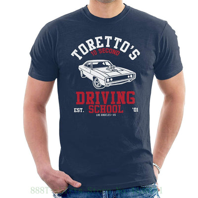 Fast And The Furious Torettos Driving School Men's T Shirt 2019 Summer T-shirts For Men