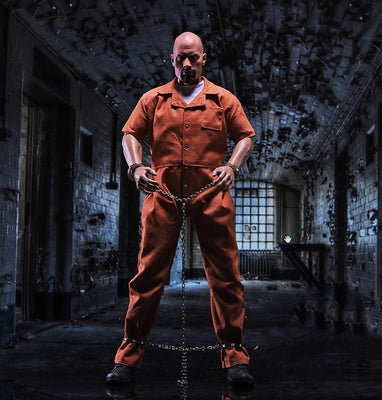 1/6 Fast and Furious 8 Jason Statham Prisoner Clothes with Shoes for 12''Figures