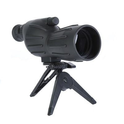 15-40x50 Spotting Scope HD Waterproof Zoom Monocular Telescope FMC Lens with Portable Tripod Outdoor Hiking Bird-watching Tools