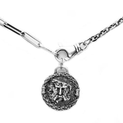 <strong>The Grief of Zeus Necklace & Chocker</strong><br><em> 925 Sterling Silver</em></br>