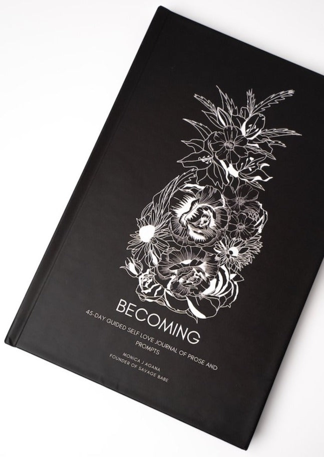 PREORDER ONLY: (HARDCOVER) BECOMING 45-DAY GUIDED JOURNAL, SHIPS 9/30/20