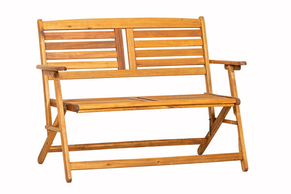 Atlantic Folding Garden Hardwood Bench Seat