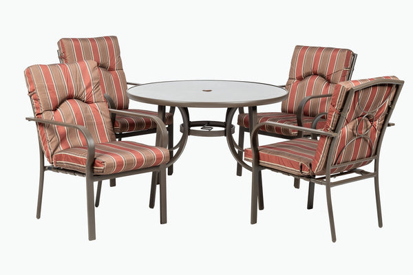 Amalfi 4 Seater Dining Set