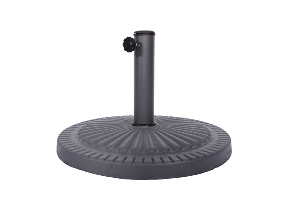 14kg Poly Resin Parasol Base
