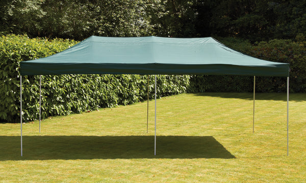 3 x 6m Pop Up Steel Gazebo - Green