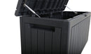 Faro 285 Litre Deluxe Storage Box - Black