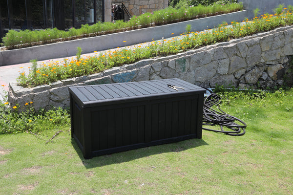 Faro 450 Litre Deluxe Storage Box - Black
