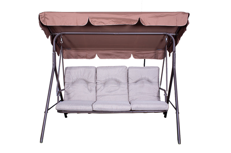 Amalfi 3 Seater Padded Swing
