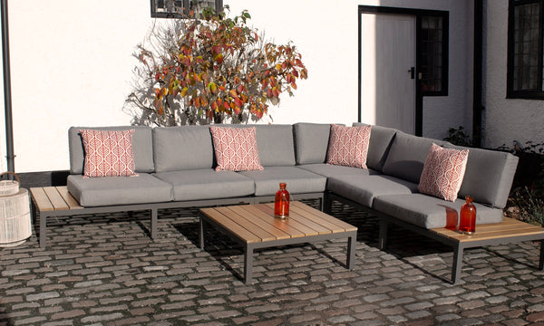 Aspen 6 Seater Corner Lounging Set