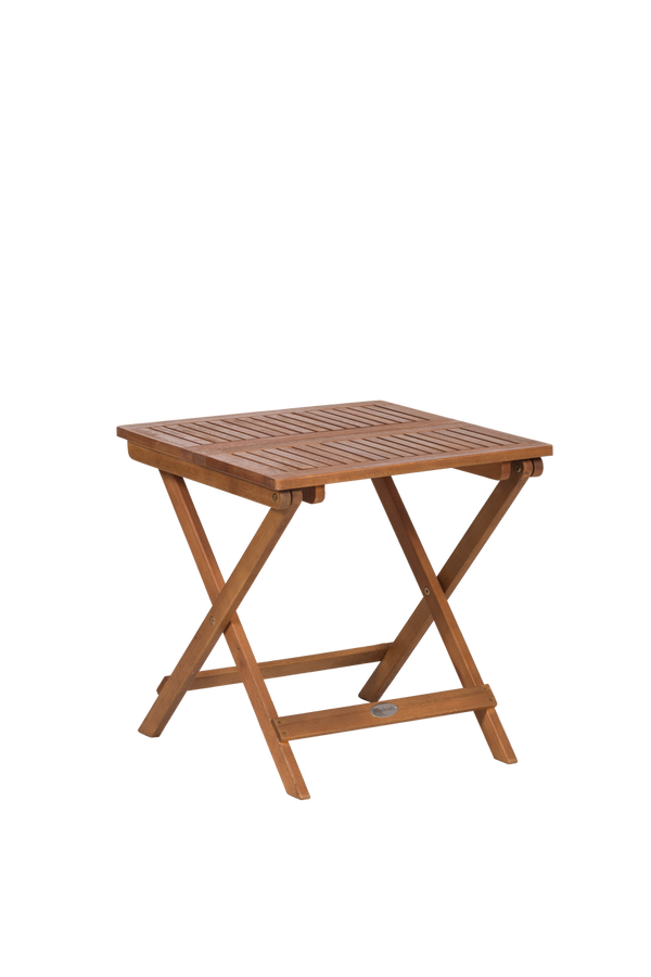 Folding Outdoor Wooden Garden Side Table