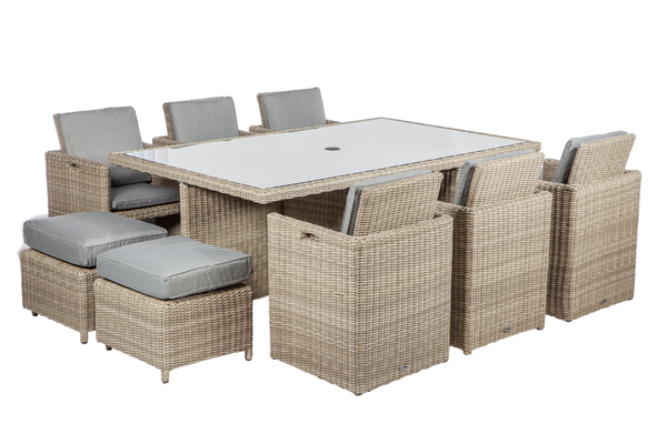 Wentworth 10 Seat Cube Set