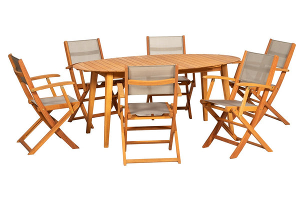 Chelsea 6 Seat Dining Set