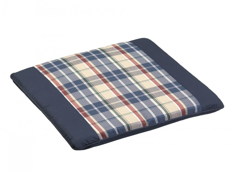 Paris Blue Garden Seat Cushion Pad (Price Pack 2PC)