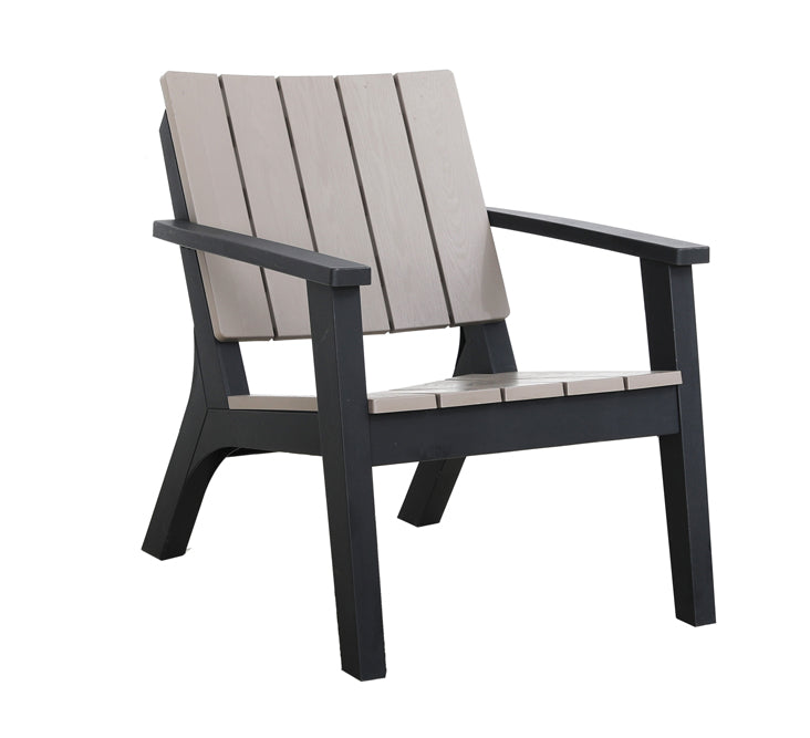 Faro Bistro Set - Wood Grain Effect