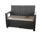 Faro 2 Seater Storage Bench
