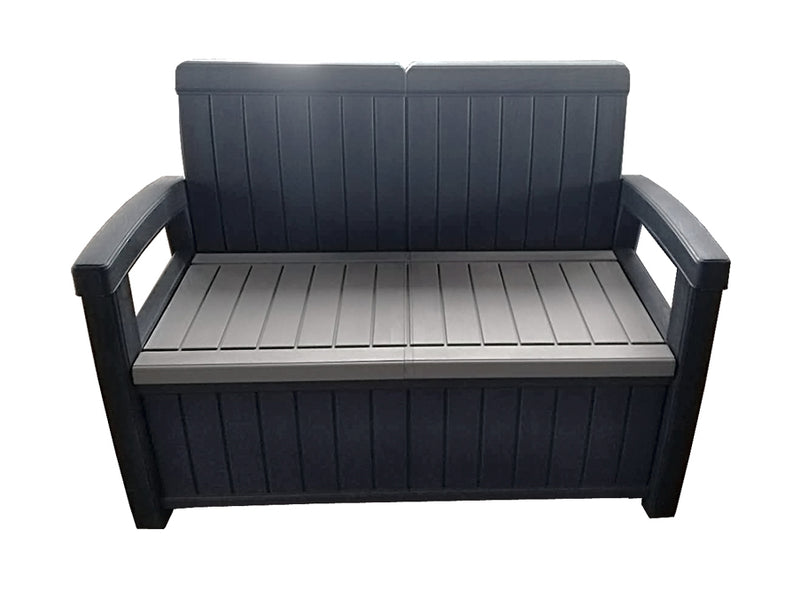 Faro 4 Piece Conversation Storage Bench Set