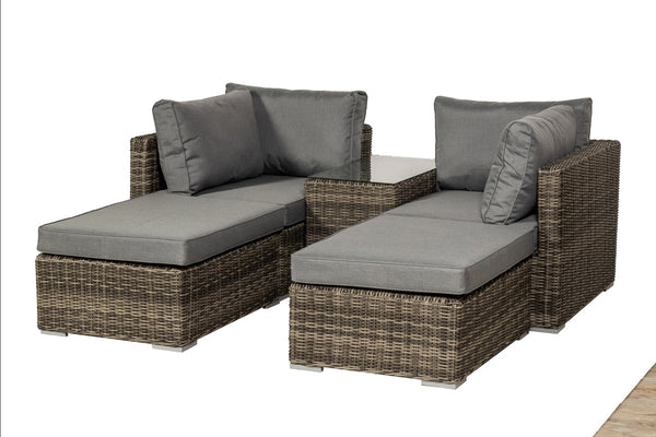 Lyon 4 Seater 5pc Multi Setting Relaxer Set