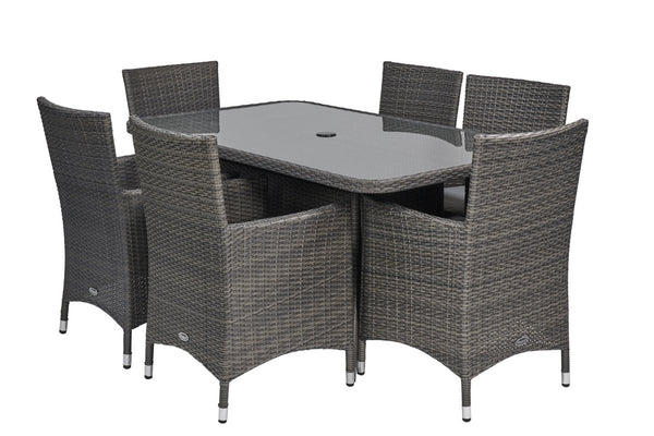 Marlow 6 Seater Rectangular Dining Set