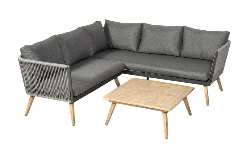 Milan 3pc Corner Lounging Set